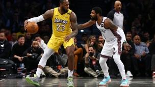 Lakers 128 - Nets 113