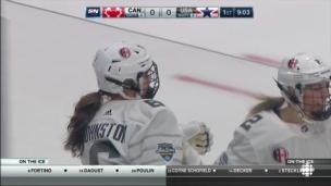 Les Canadiennes battent les Américaines