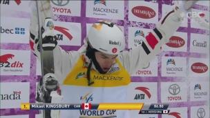 Kingsbury conserve son titre de champion au Mont-Tremblant