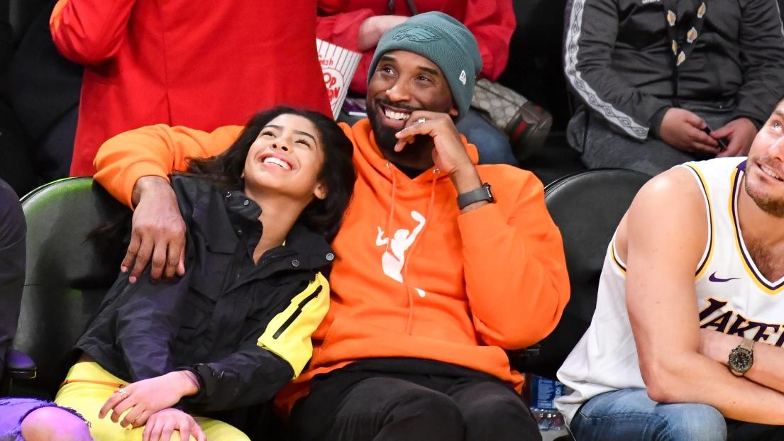 Gianna Bryant et son père Kobe Bryant