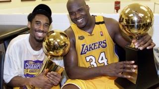 Kobe Bryant et Shaq en 2000