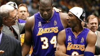 Kobe Bryant et Shaquille O'Neal en 2002