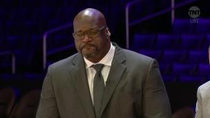 Kobe : Shaq peine à contenir ses larmes