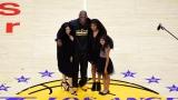 Vanessa, Kobe, Natalia et Gianna Bryant