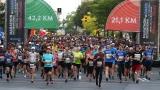 Le départ du Marathon de Montréal 2019