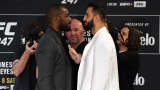 Jon Jones et Dominick Reyes