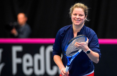 Six contrôles antidopage pour Kim Clijsters