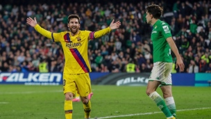 Real Betis 2 - Barcelone 3