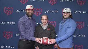 Les Alouettes embauchent deux Québécois