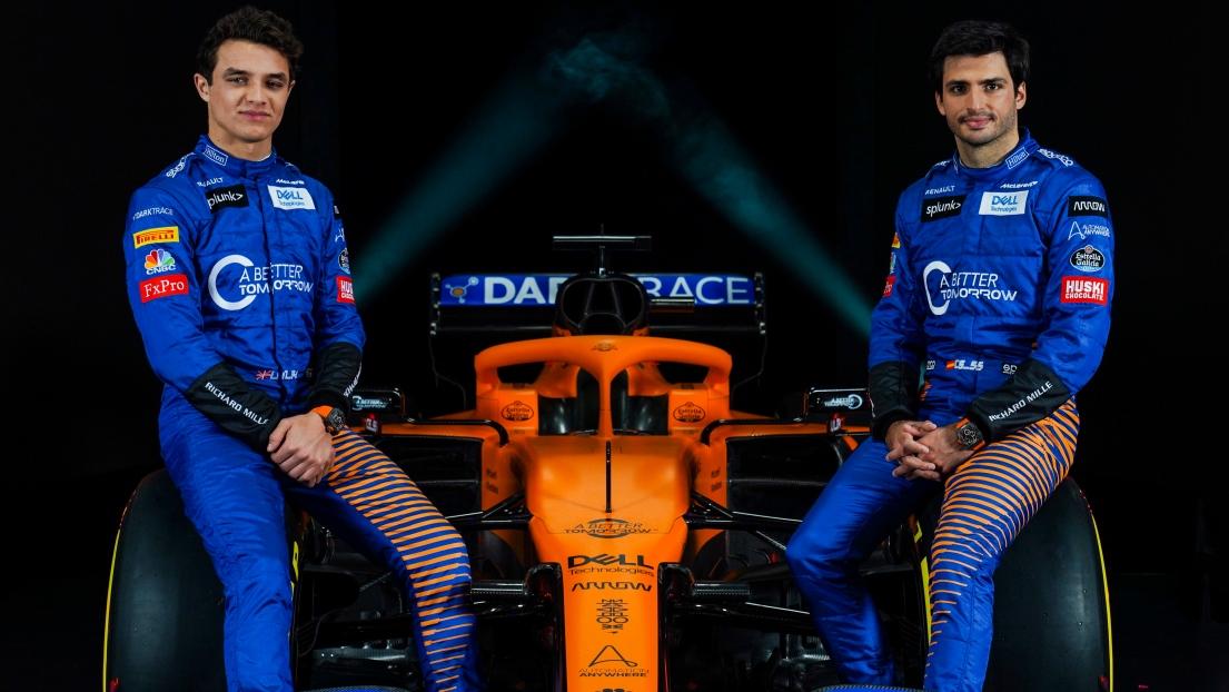 Formule 1 : la Mclaren MCL35 dévoilée en direct (et en images)