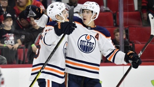 Oilers 4 - Hurricanes 3 (Prolongation)