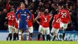 Les joueurs de Manchester United célèbrent