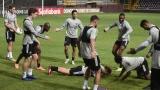 L'Impact à l'entraînement au Costa Rica
