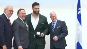 LDT reçoit la médaille d'honneur