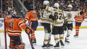 Bruins 2 - Oilers 1 (Prolongation)