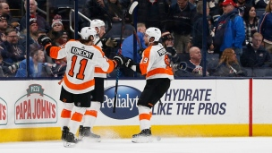 Flyers 4 - Blue Jackets 3 (Prolongation)