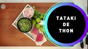 Recette de la semaine : Tataki de Thon
