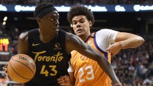 Suns 101 - Raptors 118