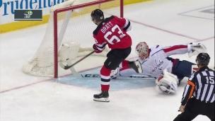 Bratt sort Samsonov de ses patins!
