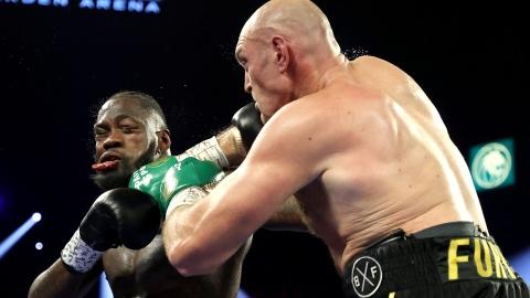 Le combat Fury c. Joshua menacé par Wilder