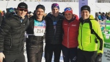 Sébastien Delorme, Patrice Godin, Frédéric Plante, Lovisa Modig et Bruno Savard