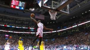 Air Boucher pour le slam dunk!