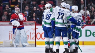 Canucks 4 - Canadiens 3 (Prolongation)