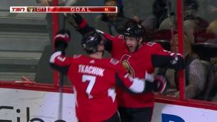 Bobby Ryan souligne son retour à Ottawa