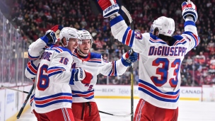 Rangers 5 - Canadiens 2
