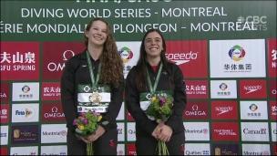 Benfeito et McKay se couvrent d'or à Montréal
