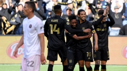 L'Inter Miami contre le Los Angeles FC