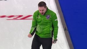 Le coup d'une vie au curling!