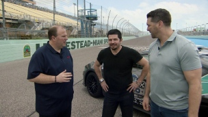 Visite du circuit de Homestead avec Patrick Carpentier (1re partie)