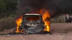 Rallye : épreuve enflammée au Mexique