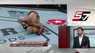 L'UFC est forcé à la pause