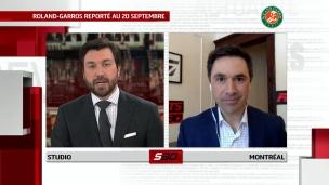 Roland-Garros reporté; les J.O. toujours à l'horaire
