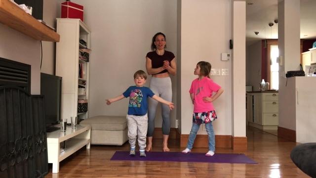 L'entraînement par intervalles à haute intensité de la semaine : Fit Kids