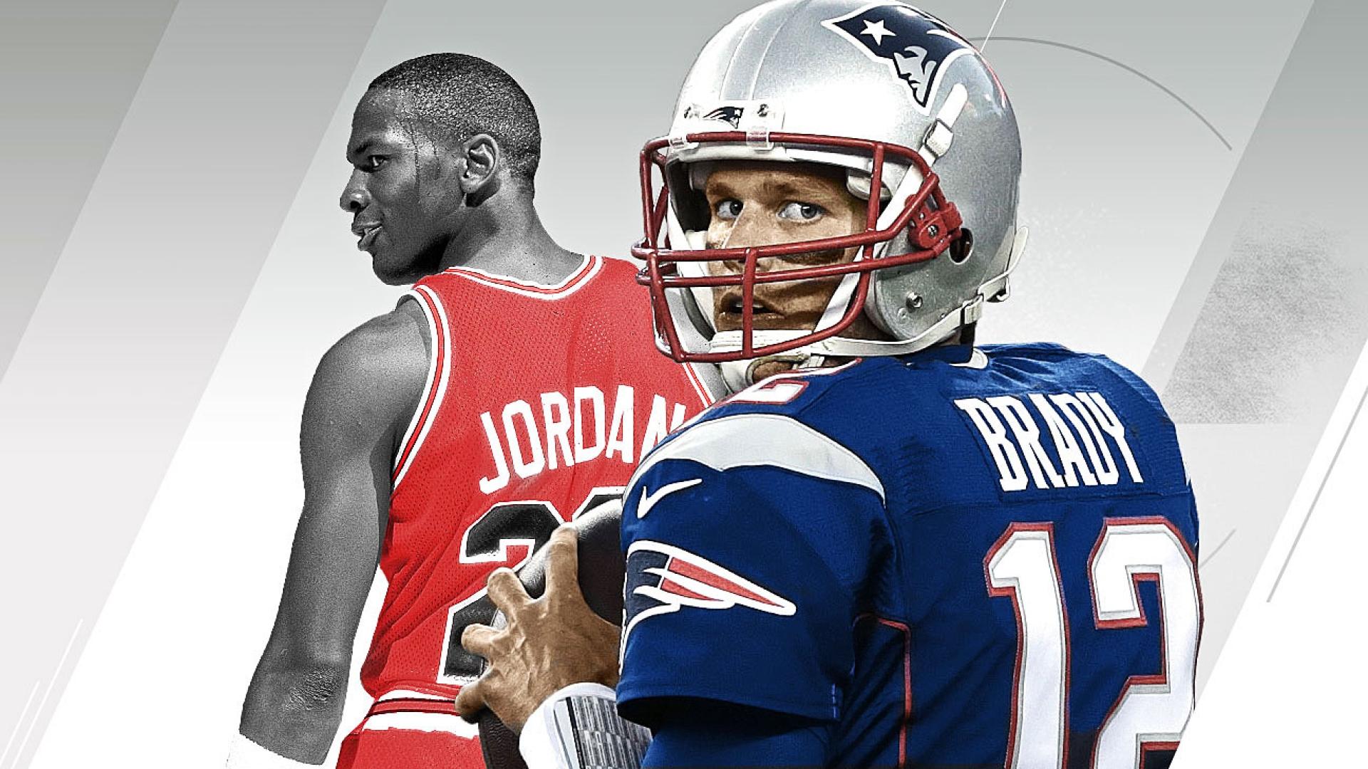 Michael Jordan, Tom Brady