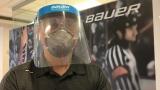 Un prototype de masque Bauer