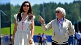 Bernie Ecclestone et son épouse Fabiana Flosi