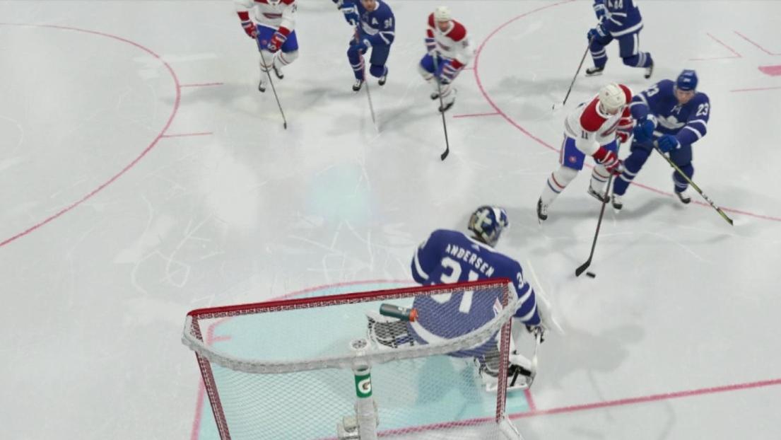 Match simulé CH-Leafs