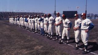 Match inaugural Expos parc Jarry 1969