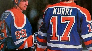 Jari Kurri et  Wayne Gretzky