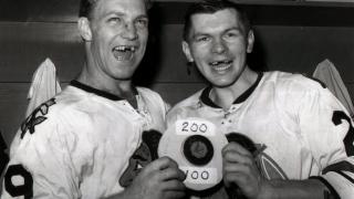 Stan Mikita et Bobby Hull