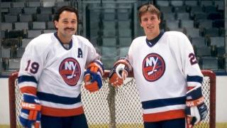 Bryan Trottier et Mike Bossy