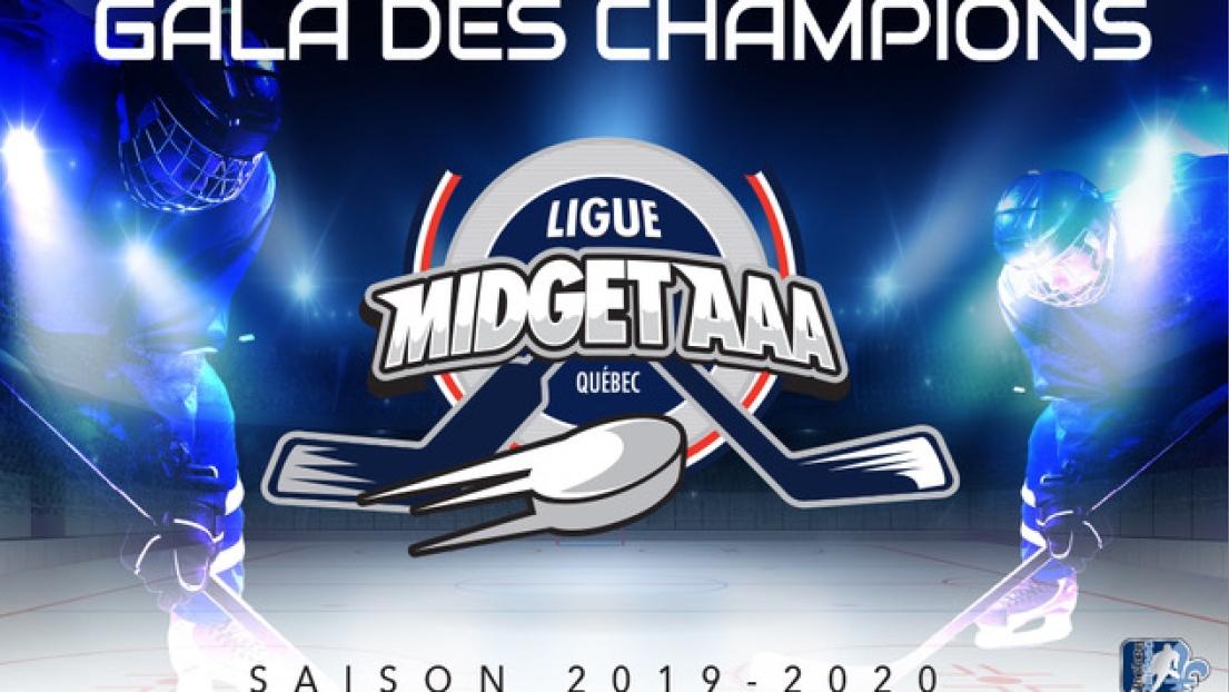 Le Gala des Champions de la Ligue midget AAA