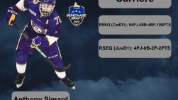 Anthony Simard joueur disponible au prochain repêchage de la LHJMQ