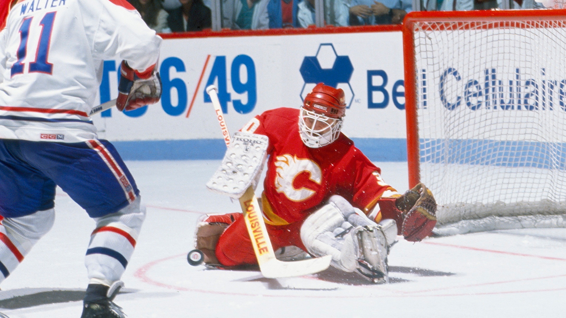 Ryan Walter et Mike Vernon