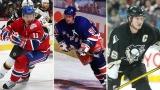 Saku Koivu, Wayne Gretzky et Mario Lemieux