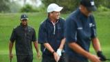 Tiger Woods, Peyton Manning et Tom Brady